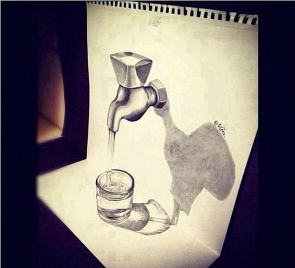Как научиться рисовать 3д рисунки карандашом?