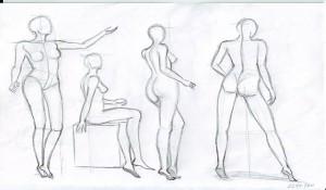 Как научиться рисовать людей карандашом