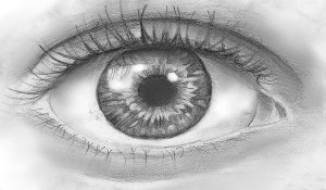 Как научиться рисовать глаза карандашом?