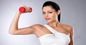 Как сделать чтобы похудели руки?