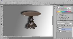 Как сделать тень от предмета в фотошопе?