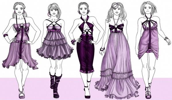 Как научиться рисовать одежду