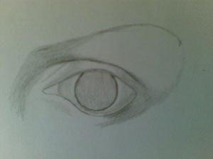 Как нарисовать глазное яблоко