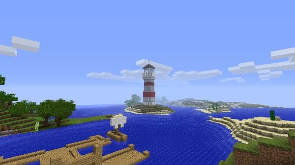 Как сделать в майнкрафте маяк?