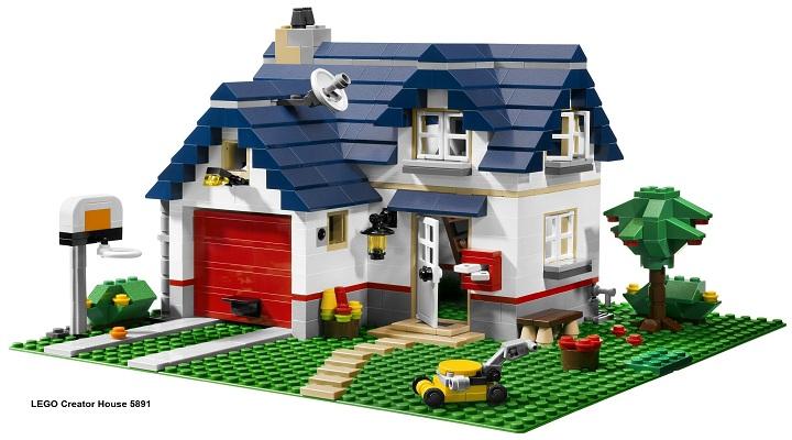 Как сделать из лего дом?