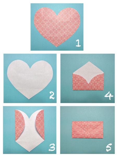 Как сделать конверт из ромба