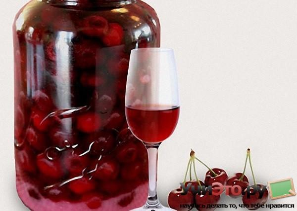 Очень простой, вкусный, но долгоиграющий рецепт вишневой наливки