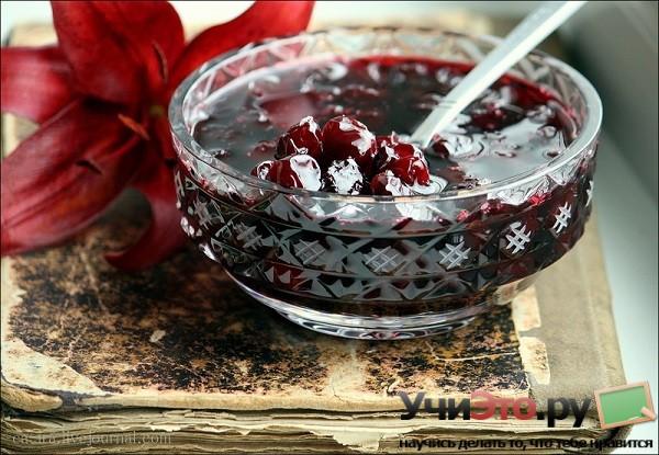 Традиционный рецепт вишневого варенья